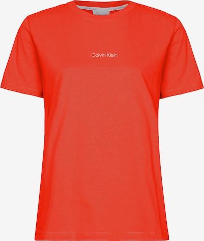 Calvin Klein Koszulka w kolorze pomarańczowo-czerwony / białym, Podgląd produktu