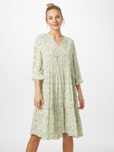 COMMA Šaty - pastelově zelená / světle zelená / offwhite, Model/ka