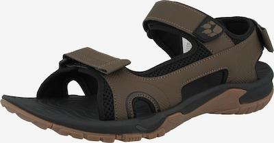 JACK WOLFSKIN Sandale in dunkelbraun, Produktansicht
