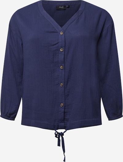 Zizzi Блуза 'MAMARA' в нейви синьо: Изглед отпред