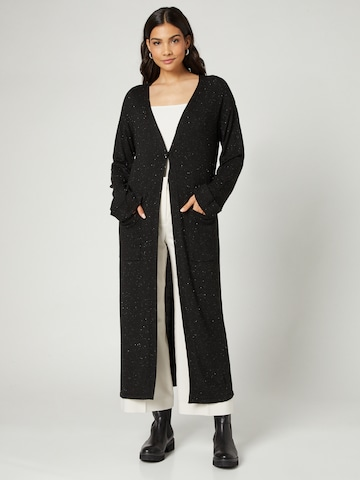 Guido Maria Kretschmer Collection Knit Cardigan 'Laura' in Black