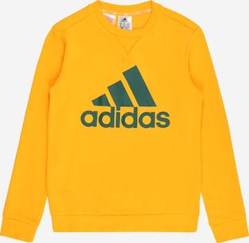 ADIDAS PERFORMANCE Urheilullinen collegepaita 'Essentials' värissä keltainen