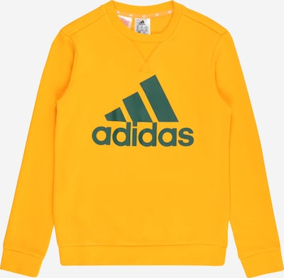 ADIDAS PERFORMANCE Sportsweatshirt 'Essentials' en safran / dunkelgelb, Vue avec produit