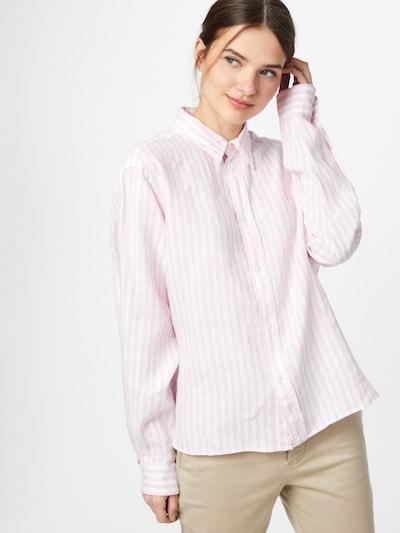 POLO RALPH LAUREN Bluse in hellpink / weiß, Modelansicht