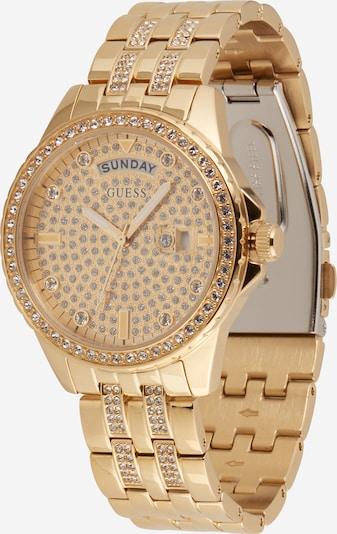 GUESS Analoginen kello 'COMET' värissä kulta / musta / valkoinen, Tuotenäkymä