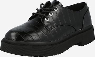 Scarpa stringata 'JURY' di NEW LOOK in nero