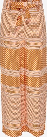 KIDS ONLY Broek 'ELLA' in de kleur Beige / Ecru / Sinaasappel, Productweergave