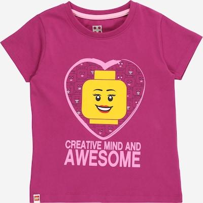 LEGO WEAR Тениска в жълто / светлорозово / тъмнорозово, Преглед на продукта