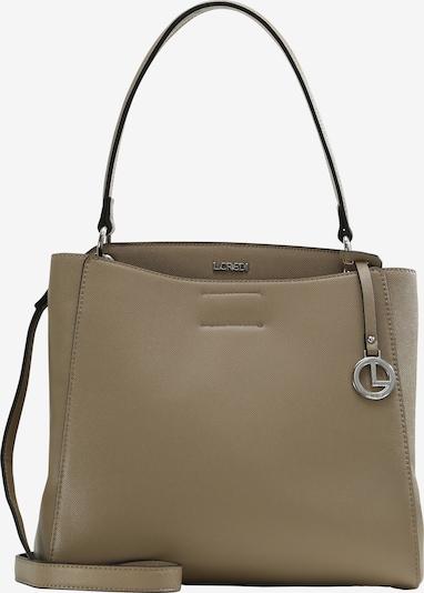 L.CREDI Tasche 'FLORENTINA' in beige / braun, Produktansicht