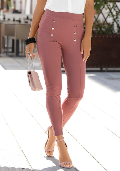 LASCANA Hose in rot, Modelansicht
