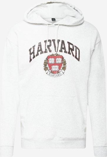 Cotton On Sweatshirt in Light grey / Red / Black, Item view