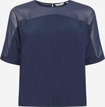 Camicia da donna di TOM TAILOR in blu