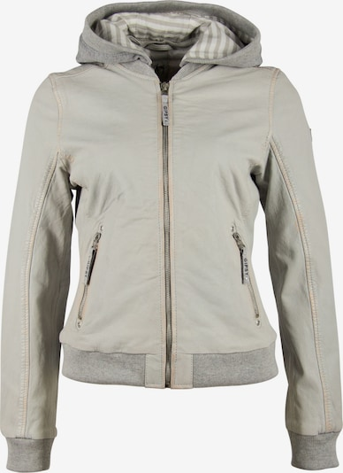 Gipsy Lederjacke in grau, Produktansicht