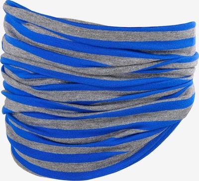 MAXIMO Sjaal in de kleur Royal blue/koningsblauw / Donkergrijs, Productweergave