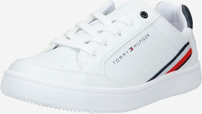 TOMMY HILFIGER Sneaker in navy / rot / weiß, Produktansicht