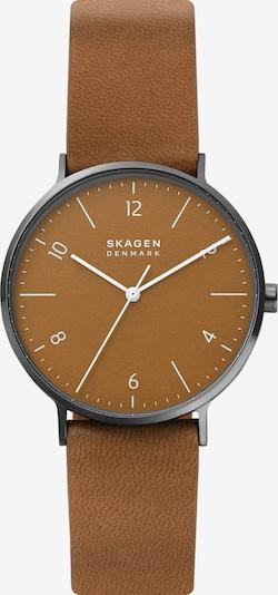 SKAGEN Uhr in hellbraun, Produktansicht