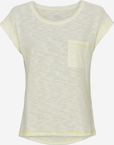 CAMEL ACTIVE T-Shirt in hellgelb / weiß, Produktansicht