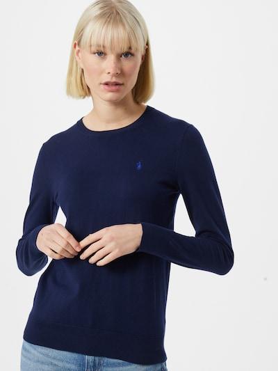 Bluză de molton POLO RALPH LAUREN pe navy, Vizualizare model