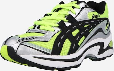 Sneaker low ASICS SportStyle pe verde neon / negru / argintiu, Vizualizare produs