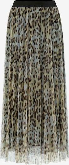 MARGITTES Rock in beige / grün / schwarz, Produktansicht