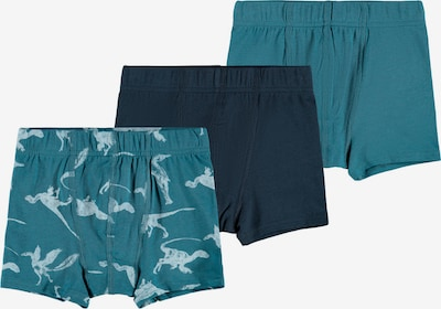 NAME IT Unterhose in türkis / hellblau / dunkelblau, Produktansicht