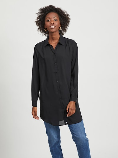 VILA Blouse in Black, View model