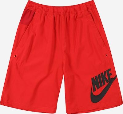 Nike Sportswear Nohavice - červená / karmínovo červená / čierna, Produkt
