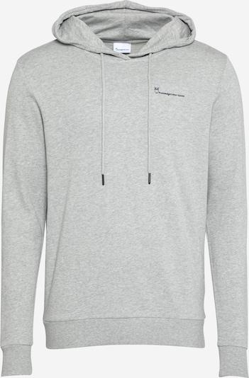 KnowledgeCotton Apparel Sweatshirt 'ELM' i mörkblå / gråmelerad, Produktvy