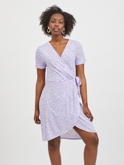 VILA Summer Dress 'Nayeli' in Lilac / White, View model