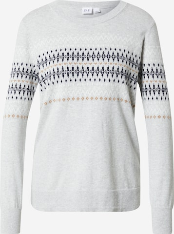 GAP Pullover 'FAIRISLE' in Grau