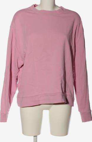 WEEKDAY Sweatshirt & Zip-Up Hoodie in L in Pink