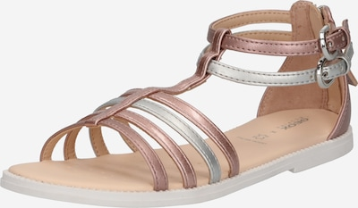 GEOX Sandale 'KARLY' in rosegold / silber, Produktansicht