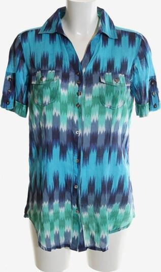 Select Kurzarm-Bluse in S in blau / türkis / grün, Produktansicht