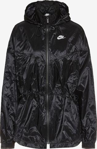 Nike Sportswear Between-Season Jacket 'Windrunner' in Black