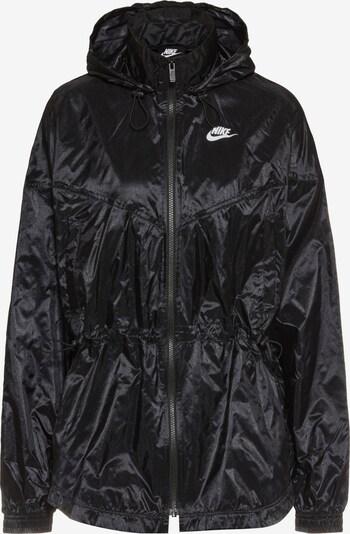 Nike Sportswear Jacke 'Windrunner' in schwarz / weiß, Produktansicht
