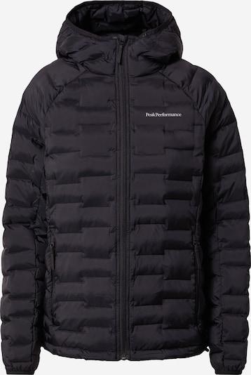 PEAK PERFORMANCE Outdoorová bunda 'Argon' - černá / bílá, Produkt