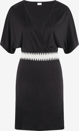 LASCANA Beach Dress in Black / White, Item view
