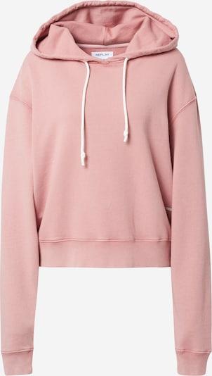 Bluză de molton REPLAY pe roz, Vizualizare produs