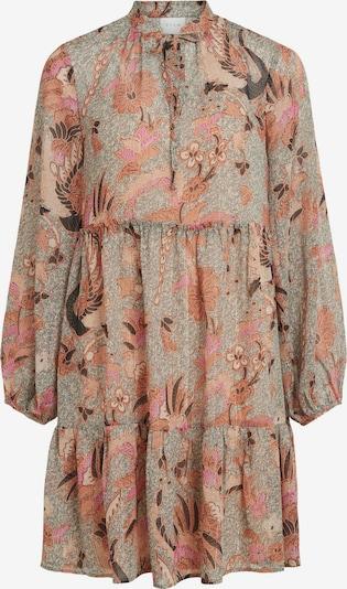 VILA Skjortklänning 'Losana' i kräm / brun / orange / rosa, Produktvy