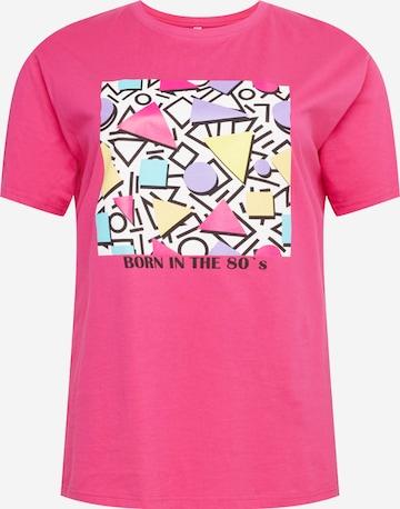 Maglietta di Mister Tee Curvy in rosa