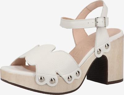 Wonders Sandalen in weiß, Produktansicht