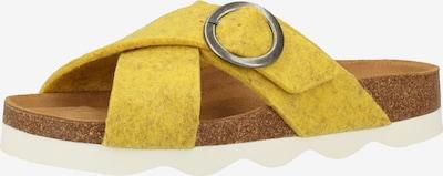 SHEPHERD OF SWEDEN Hausschuh in limone, Produktansicht
