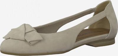 TAMARIS Ballerina in hellbeige, Produktansicht