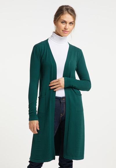 Usha Cardigan in grün, Modelansicht