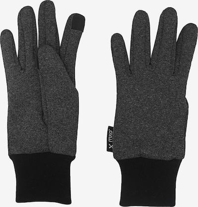 MAXIMO Handschuhe in graumeliert / schwarz, Produktansicht