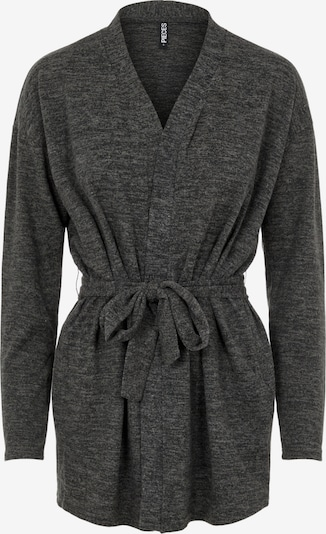 PIECES Knit Cardigan 'Pam' in Anthracite, Item view