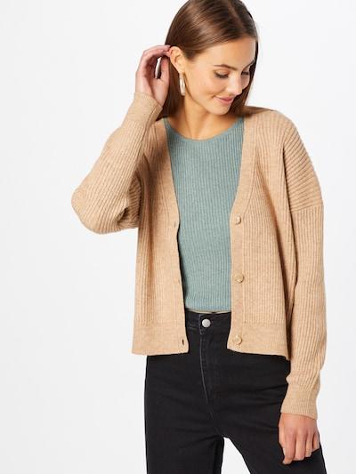 ONLY Cárdigan 'KATIA' en marrón claro, Vista del modelo