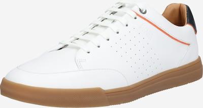 BOSS Baskets basses en sapin / rouge clair / blanc: Vue de face