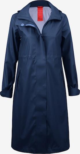 Dingy Rhythm Of The Rain Outdoormantel in de kleur Blauw, Productweergave