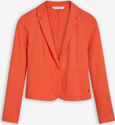 Sandwich Blazer in orangerot, Produktansicht